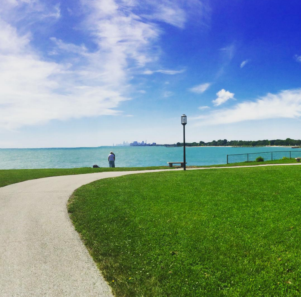 My alma mater, Northwestern University, and the lake view of the city--one of my favorite areas of the campus.