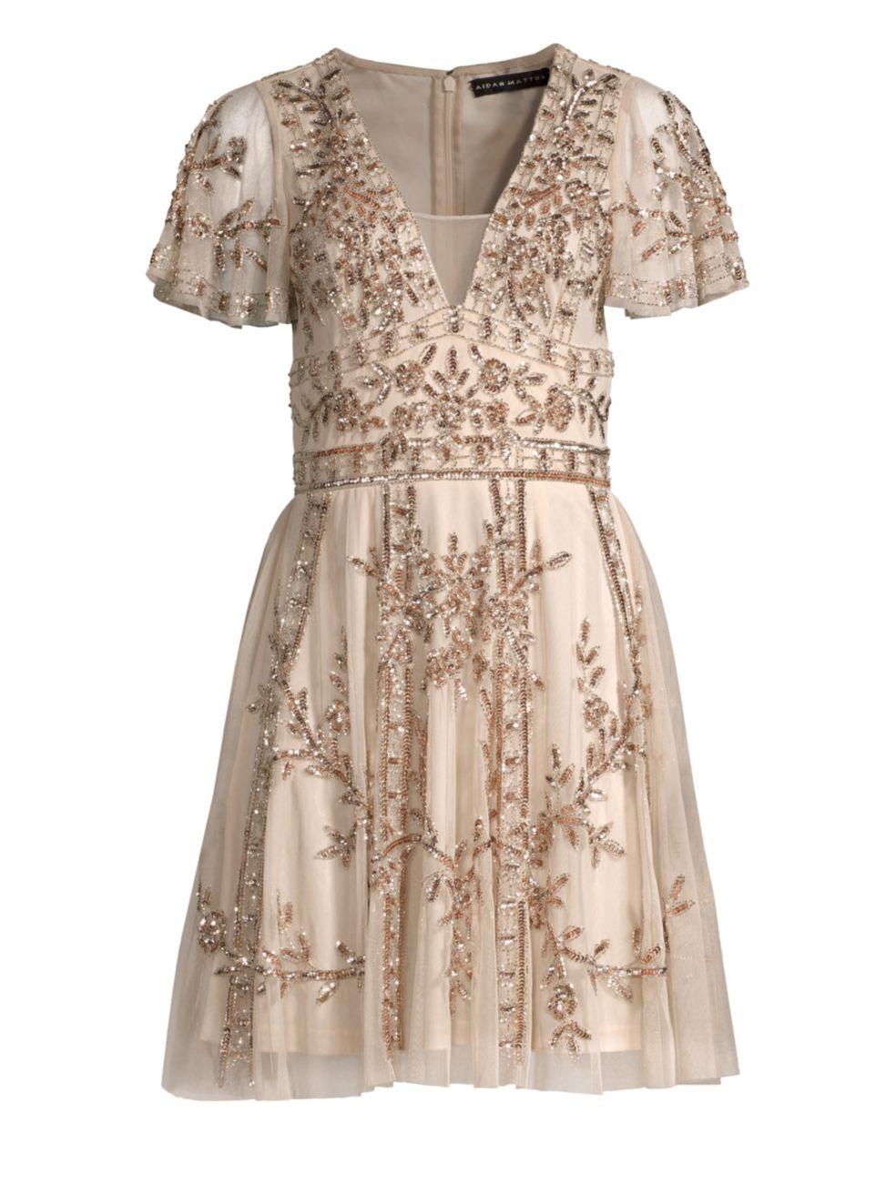 Aidan Mattox - Beaded Dress