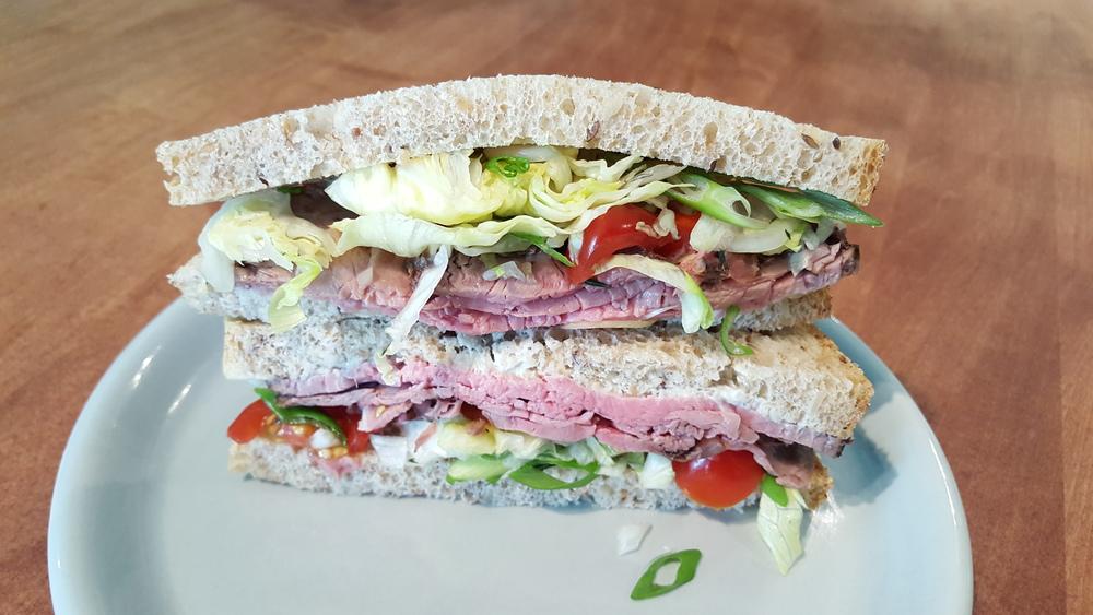 Roast Beef Wedge Sandwich