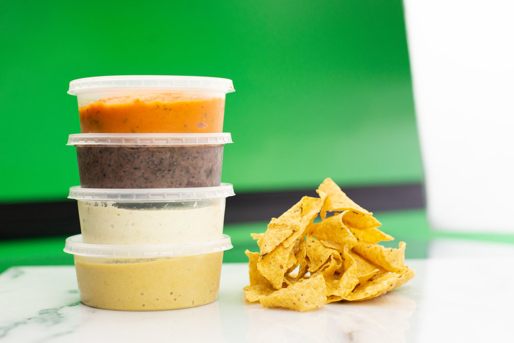 Don't forget to stock up on chips and dips for the weekend!