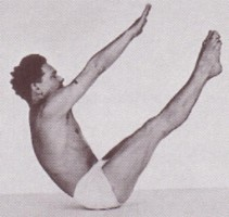 Practice your TEASER... - White bikini optional(Joe Pilates)