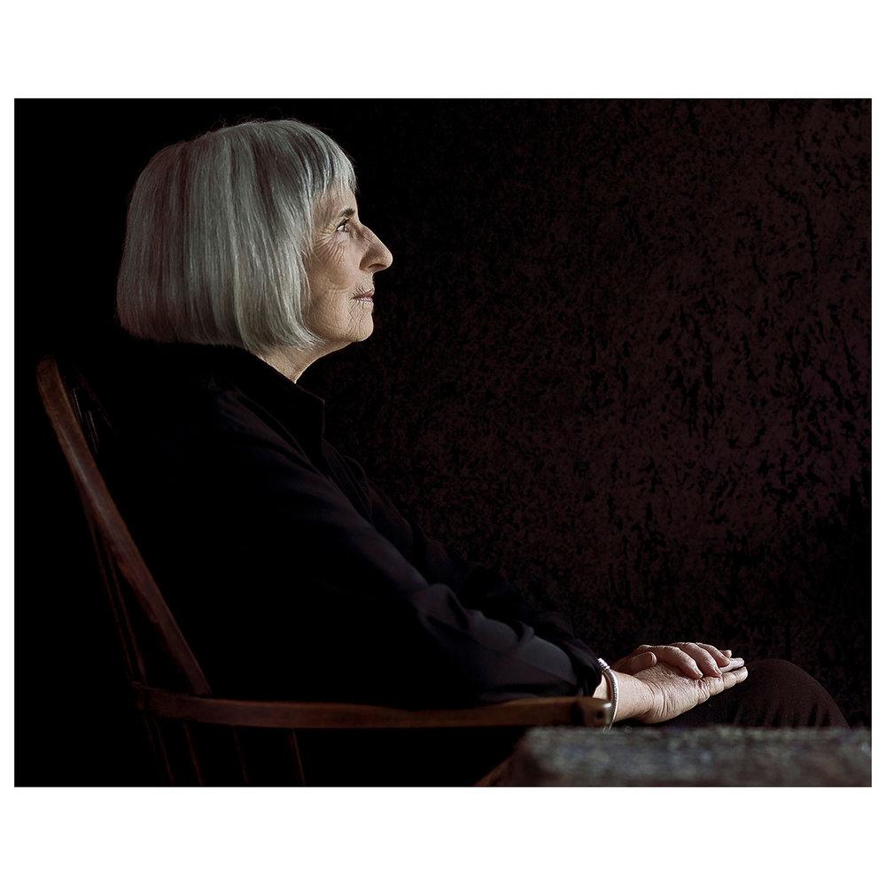 Betty Churcher. Wamboin, NSW  |  National Photographic Portrait Prize, 2010
