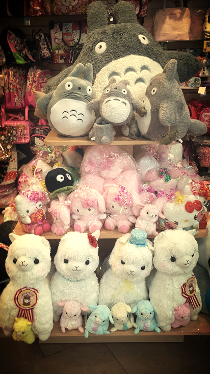 Tons of plush dolls