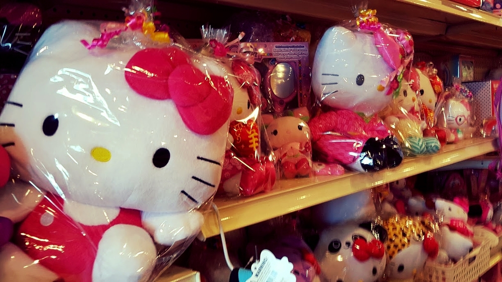 Wide selection of Hello Kitty products