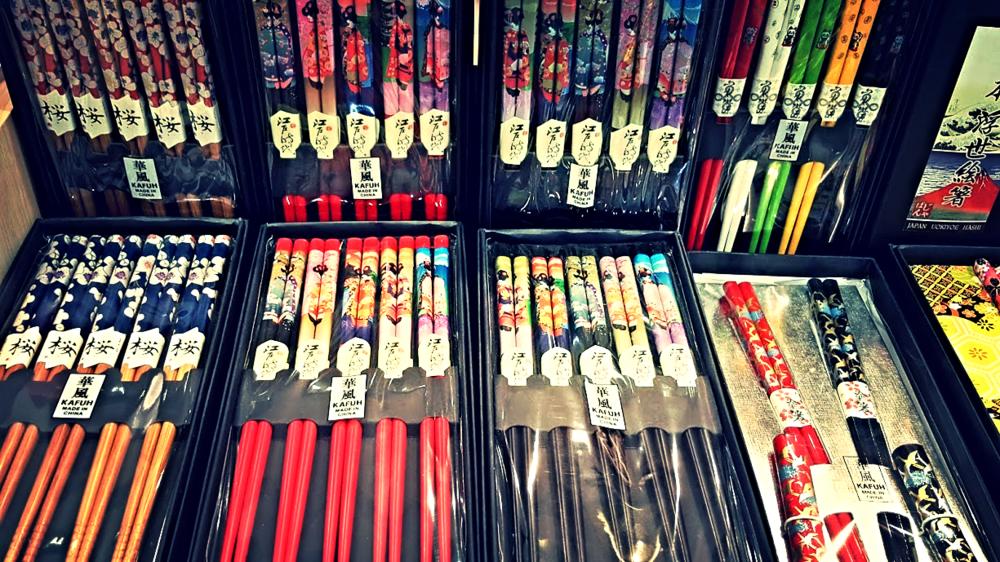 Beautifully designed chopsticks