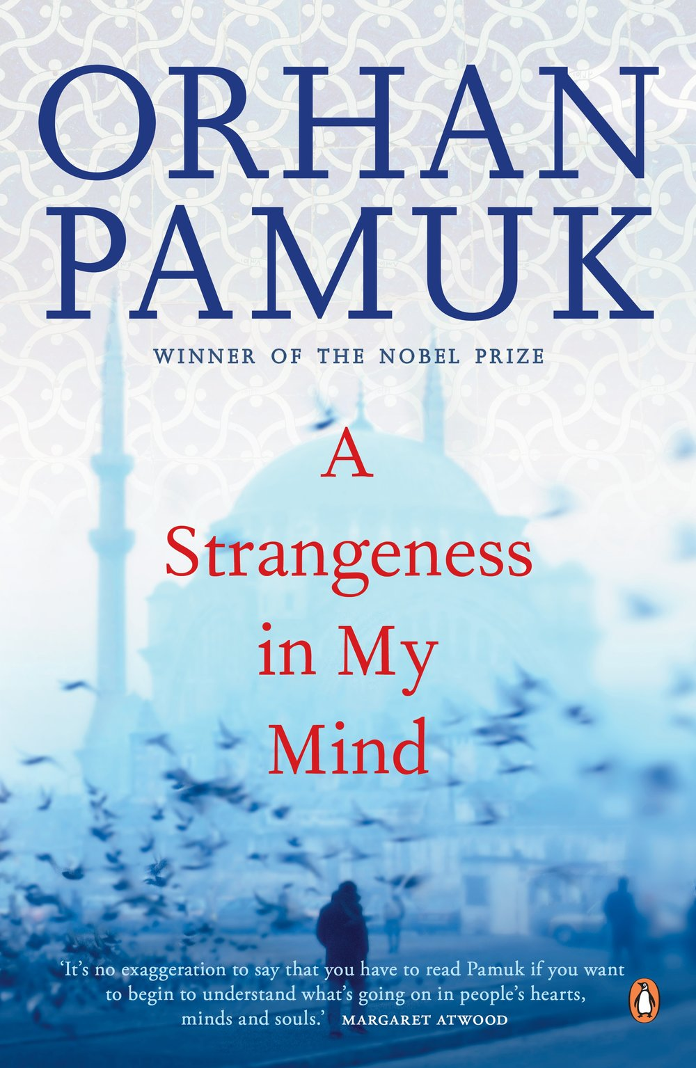 a strangeness in my mind by orhan pamuk - From the Nobel prize winner and bestselling author of My Name is Red and The Museum of Innocence, a soaring, panoramic new novel telling the unforgettable tale of an Istanbul street vendor and the love of his life.Over four decades, Mevlut observes many different kinds of people thronging the streets, he watches most of the city get demolished and re-built, and he witnesses all of the transformative moments, political clashes, and military coups that shape the country.