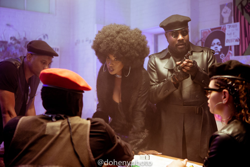 BTS of Black Bonnie by Wale - Check out the exclusive BTS photos of Black Bonnie by Wale