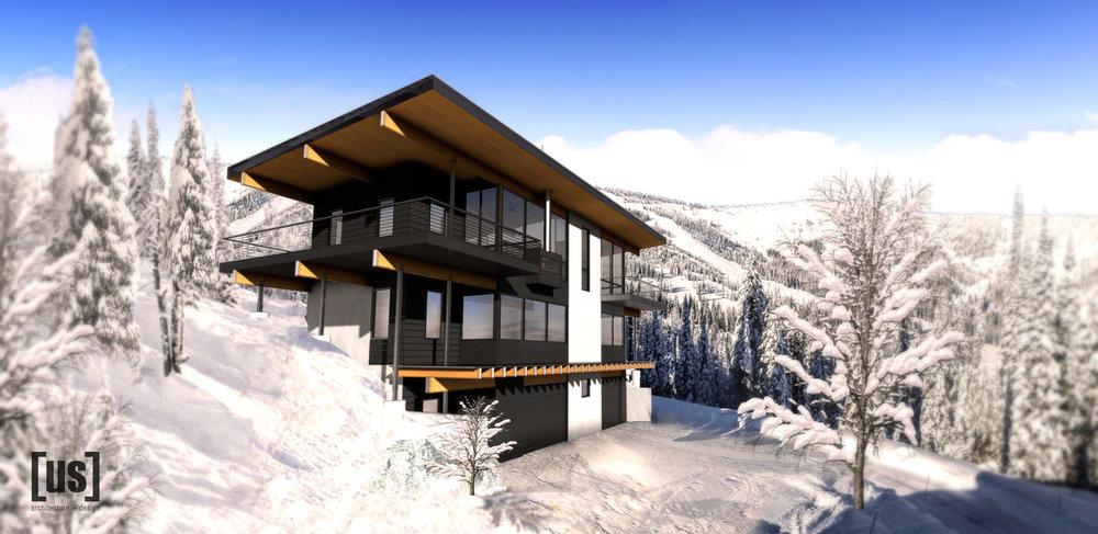 Schweitzer Mountain Cabin