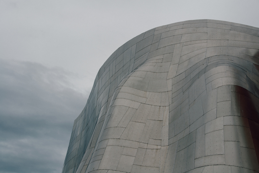 the EMP's cool exterior
