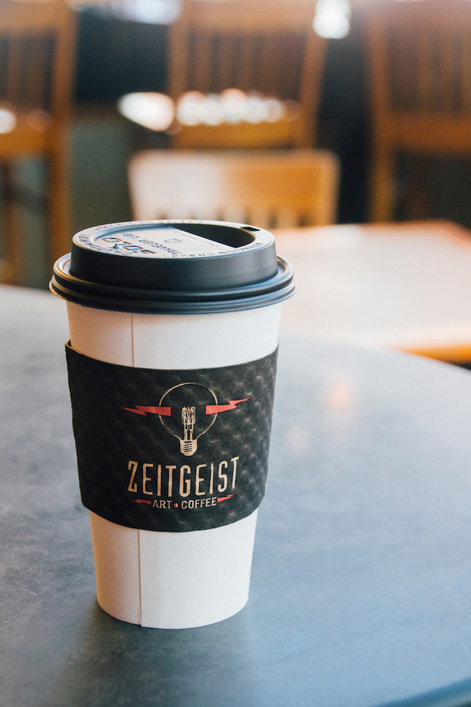 zeitgeist coffee : delicious and cheap