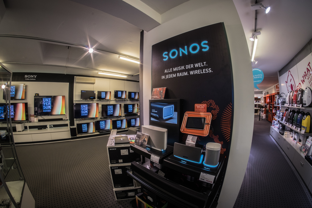 sonos multiroom audio