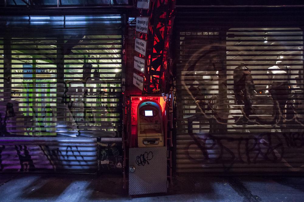 Bedford Ave in Williamsburg, Brooklyn at 5:30am