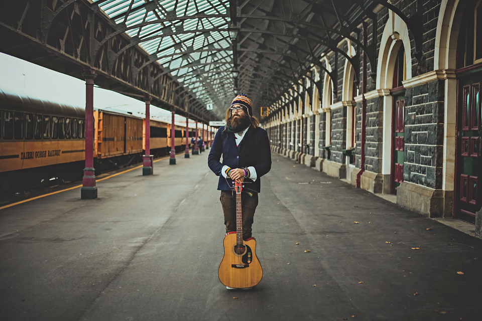 Model Citizzen Photography, Hayley Walmsley, Model: Sergey Onischenko, Location Dunedin Railway Station, 2015.