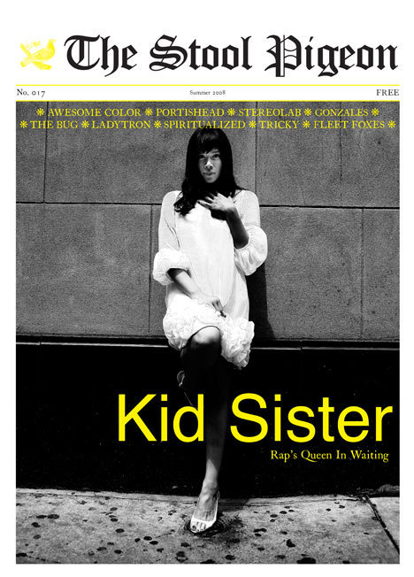 Kid Sister - The Stool Pigeon (Cover Feature)