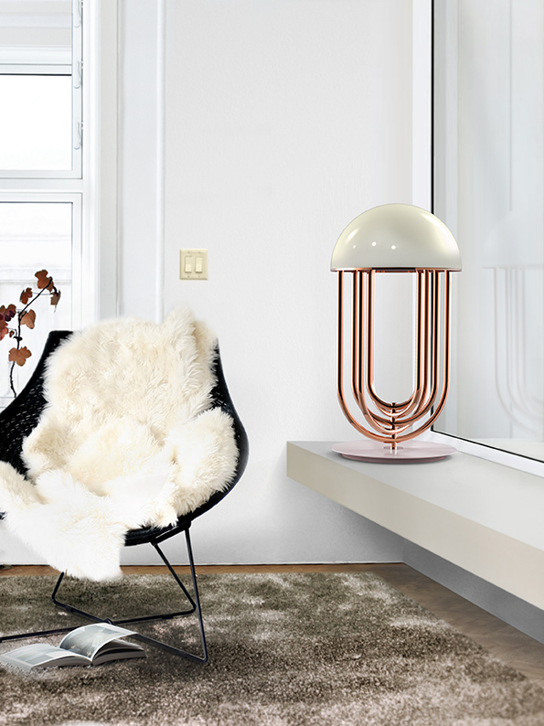 Turner table lamp by Delight by Delightful Unique Lamps