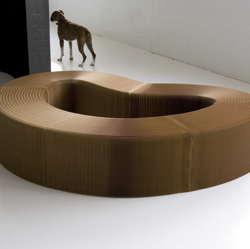 Molo Soft seating bench and stool