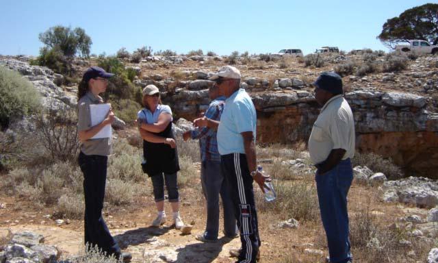 Nullarbor Karst Indigenous Interpretation - Western Australia