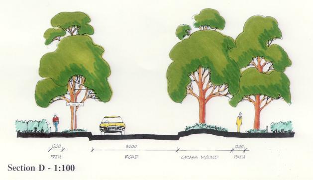 Local Street Landscape Concept - Mickleham Grande Estate, Craigieburn, Victoria