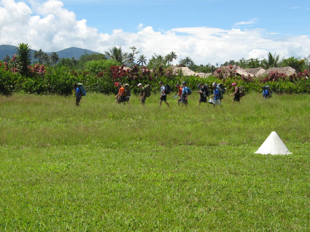 Kokoda Track Heritage Interpretation - Trekkers, Papua New Guinea