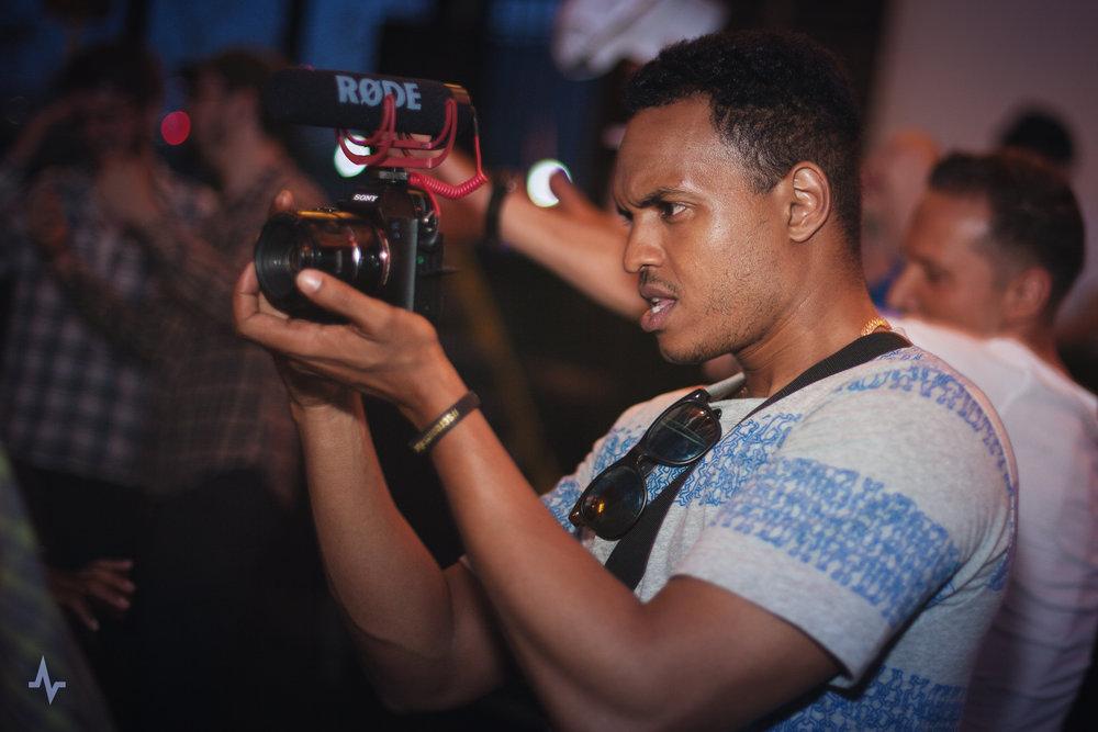 Immersive filming