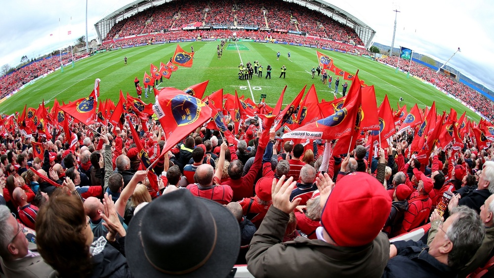 2 Tickets to watch Munster play in Thomond Park (Fixture TBC)