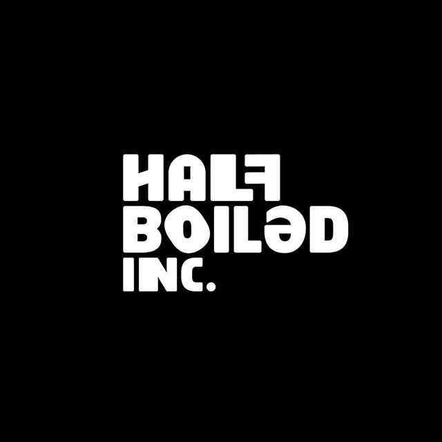 Ain't nothing normal about @halfboiledinc 🤪. . . . . #creativecollective #comedy #improv #creative #community #branding #indentity #logodesign #graphicdesign #sambaligaportfolio