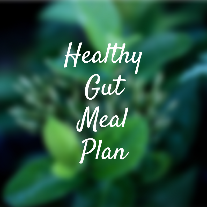 The gut is the seed of all health. This meal plan focuses on foods to help heal the gut and is gluten, dairy and refined sugar free, as well as giving you some extra pointers on how to improve digestion.
