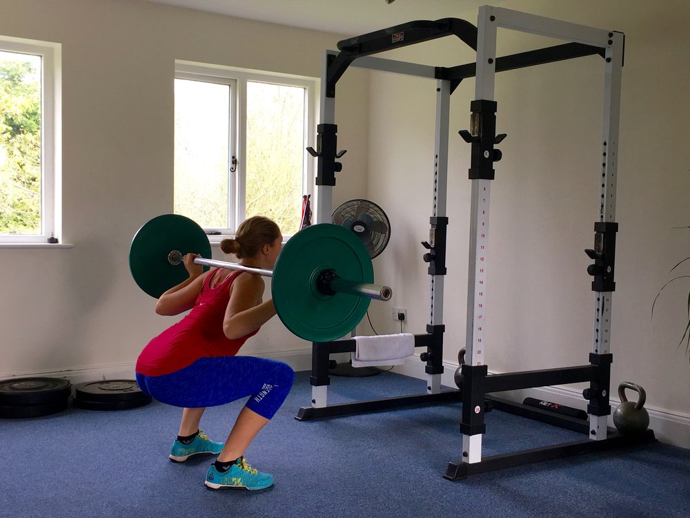Back Squats  Click  HERE  for video