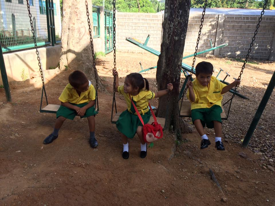 Playground at the Coron building (June 2016).jpg