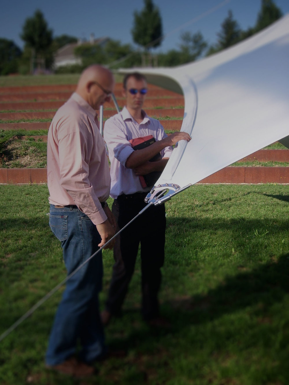 Ferrari Tent - An Educative Membrane Structure