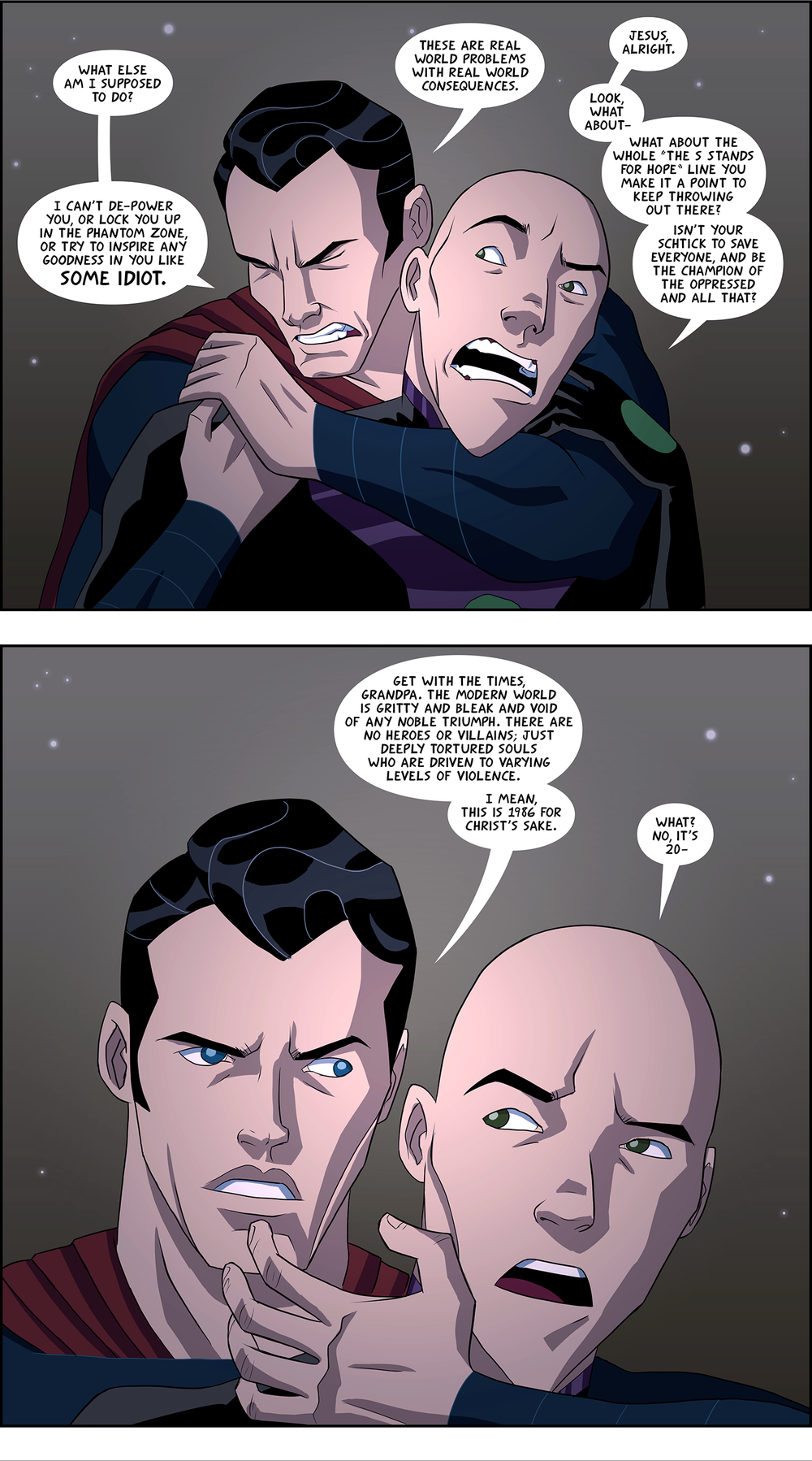 Luthor V Superman