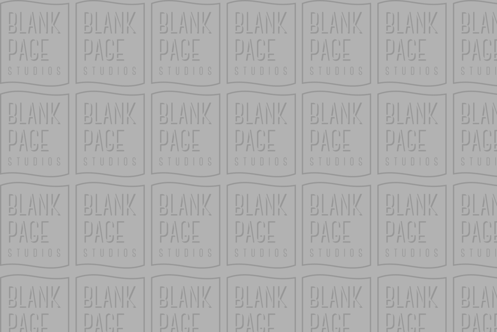 I Made a Company and Called it Blank Page Studios