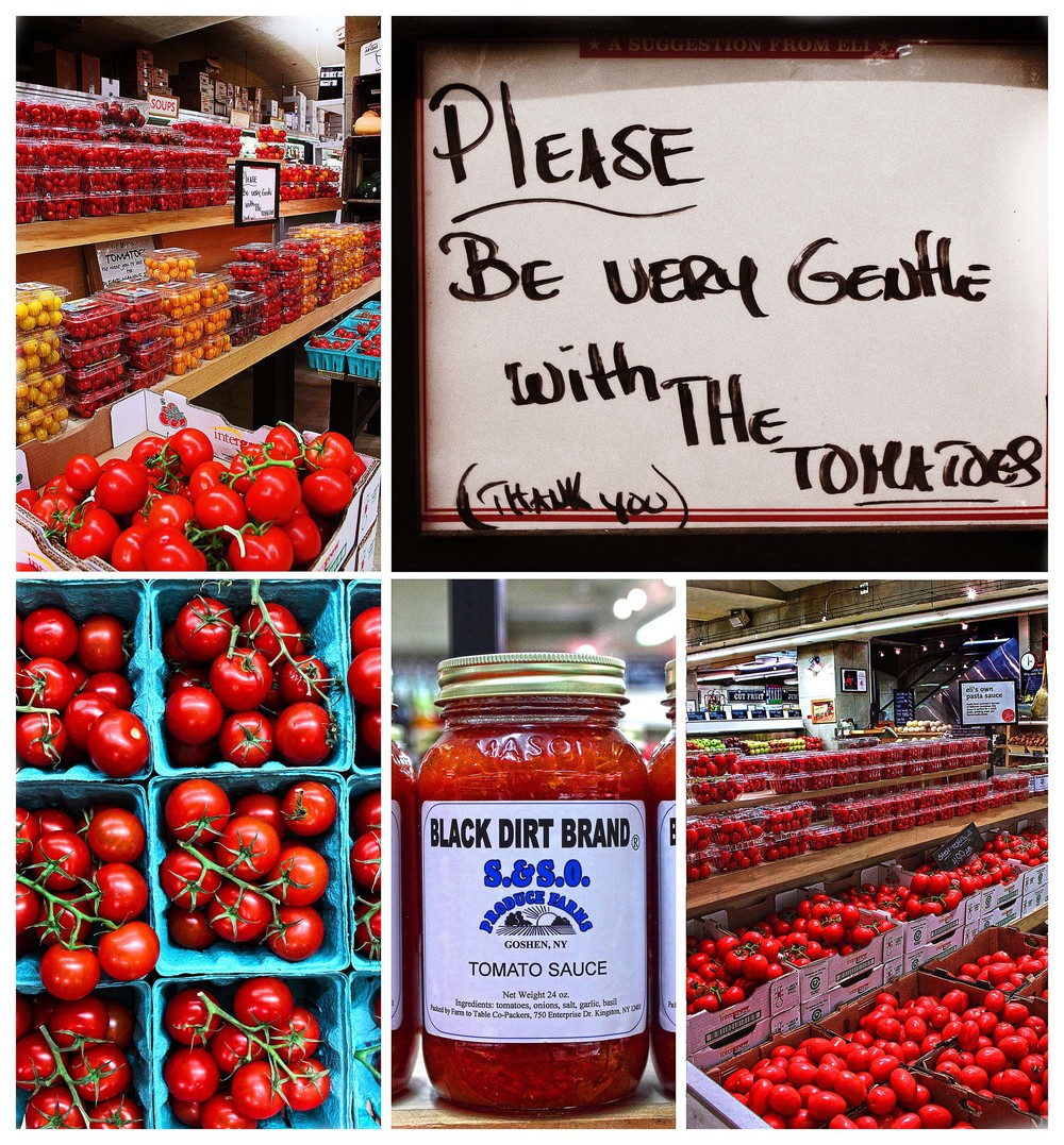 Please be very gentle with the tomatoes. Thank-you!