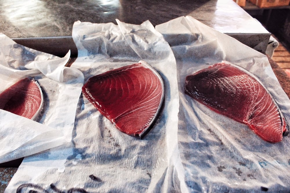 Sashimi-to-be.