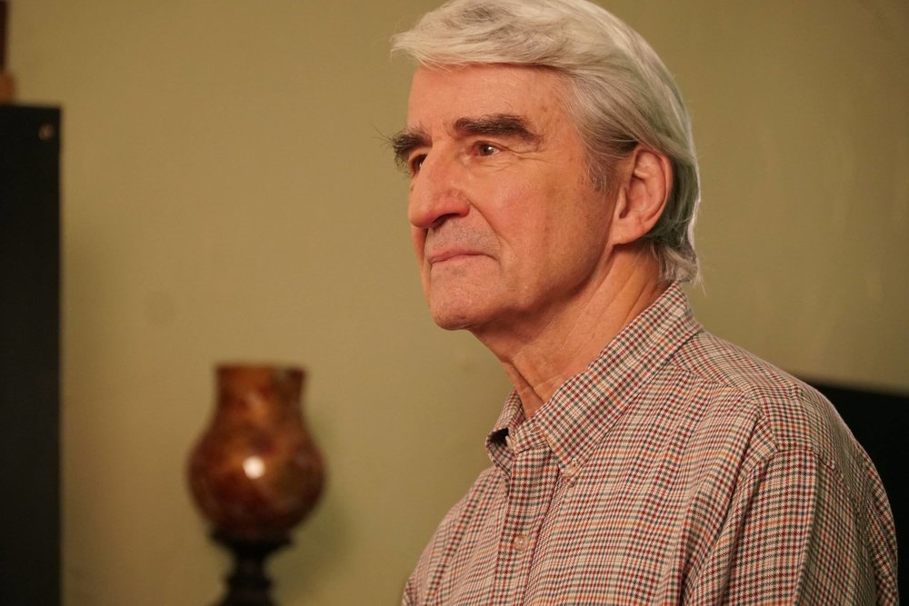Photos from our recent shoot with Sam Waterston - For the Visionaries public television series