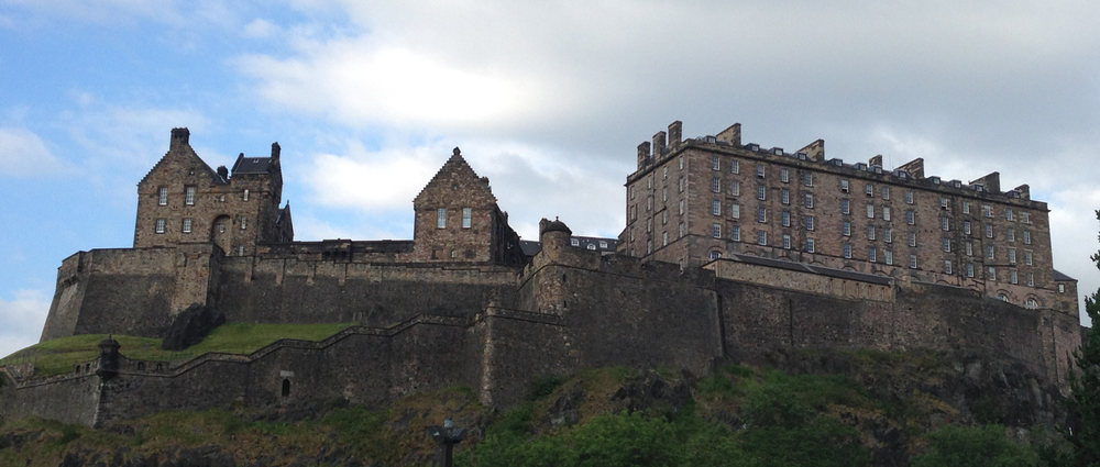 Overlooking the 2015 EIFF stood the beautiful Edinburgh Castle.