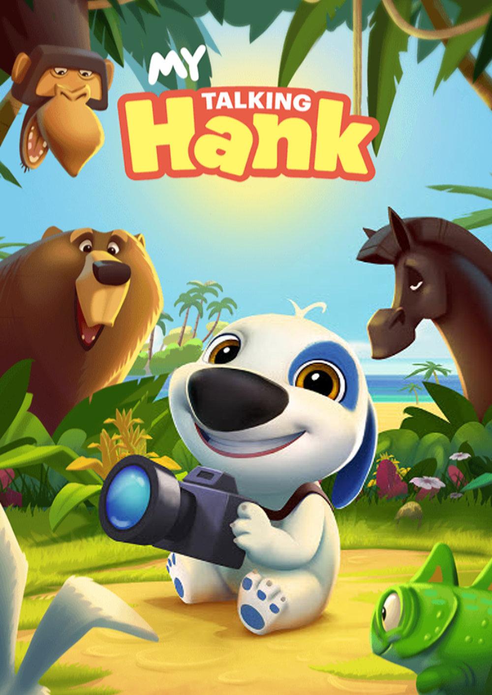 My Talking Hank - Poster