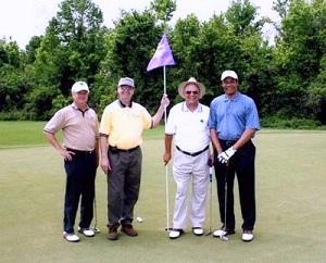 L to R: Bruce Dyson, Jeff Floyd, Carl Robicheaux, Rhaoul Guillaume, Sr.