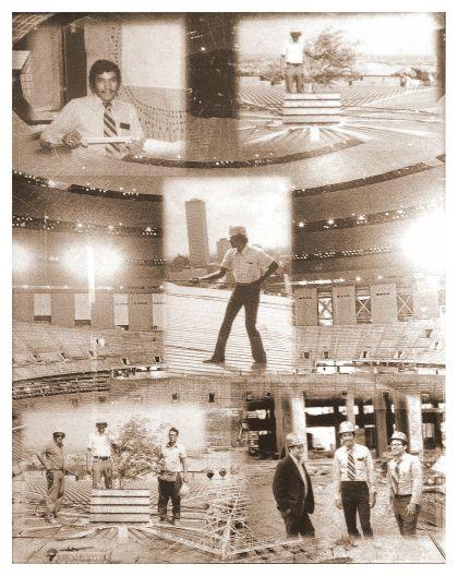 Superdome, New Orleans, LA 1971-75