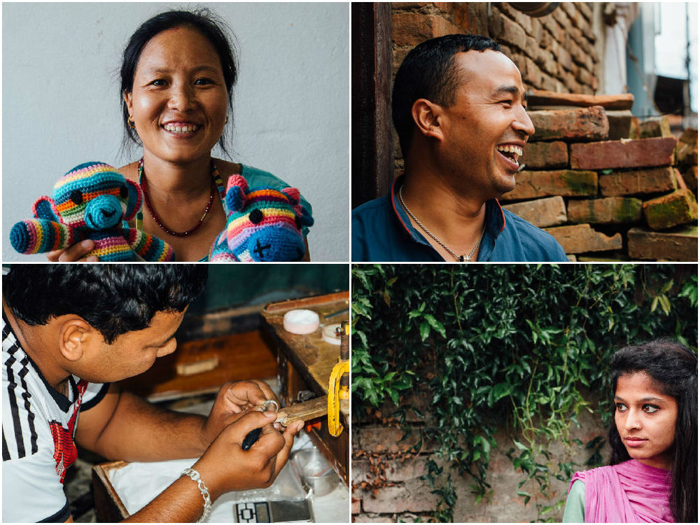 #KnowYourArtisan - At the same time, we discovered heartwarming stories and the artisans' bright dreams for their own futures. We want you to #KnowYourArtisan on a personal level. That is why we create individualized artisan profiles, so you too, can be inspired by their stories.