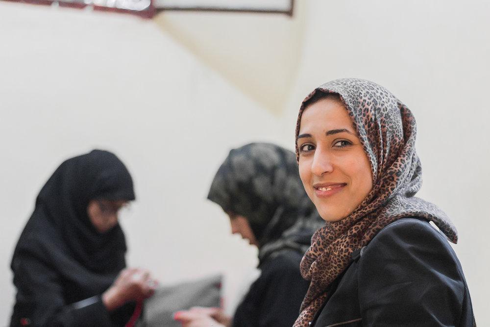 Ayoush and the women artisans