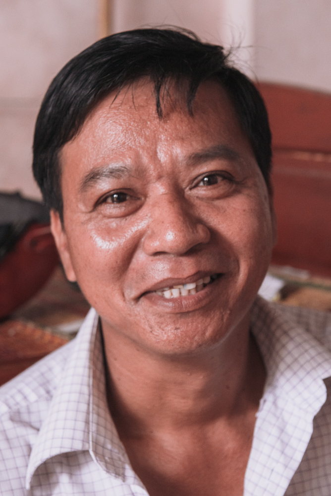 The Straw Hat Artisan: Thinh - From the idyllic village of Cam Kim Island, Thinh learnt the art of straw-weaving years ago, specialising in crafting simple straw hats.He sources his fresh straw reeds from his sister who works in the nearby fields.