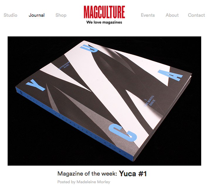 Yuca Magazine Issue I
