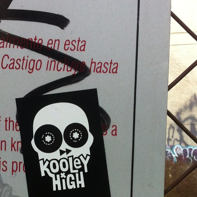 Kooley High #graffiti #nyc #kooleyhigh #streetart #brooklyn #stickerart