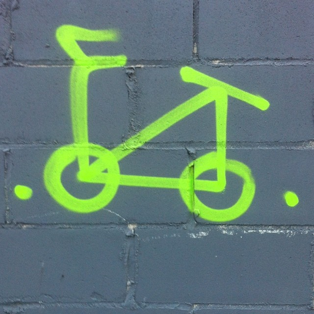 Take a Ride #streetart #brooklyn #nyc #noedit #nofilter #ride #bicycle