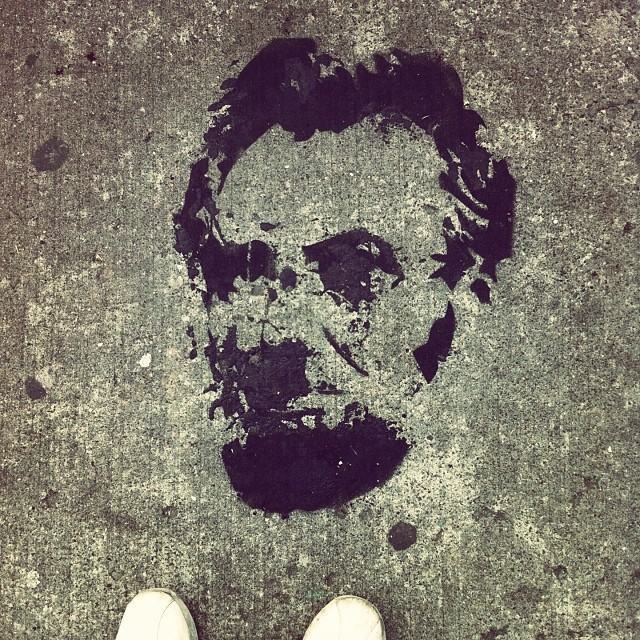 Abe came through for the thanksgiving holiday #streetart #brooklyn #nyc #honestabe #abrahamlincoln