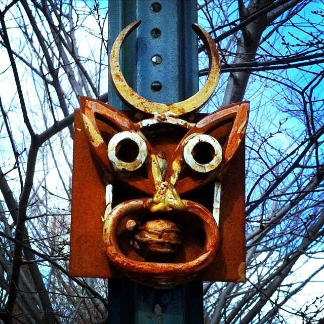 Street Sculpture #streetart #nyc