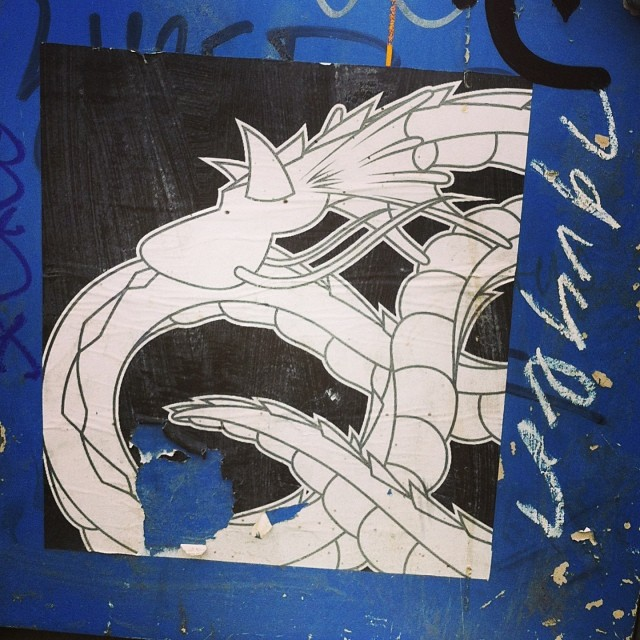 Dragon Paste #streetart