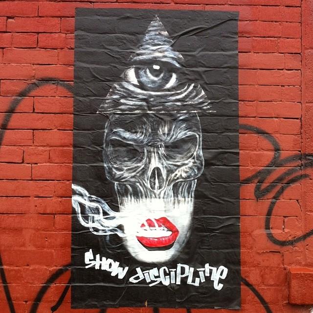 Show Discipline #streetart