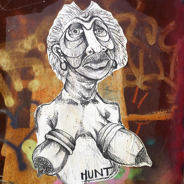 Hunt #streetart #bushwick #brooklyn